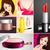 beautiful · girl · escove · make-up · vetor · menina · corpo - foto stock © vectomart