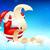 выделите · Рождества · Hat · бумаги · искусства · зима - Сток-фото © vectomart