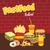 ingesteld · plantaardige · calorieën · witte · illustratie · voedsel - stockfoto © vector1st
