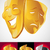 theater masks stock photo © vectorarta
