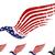 amerikai · sas · zászló · Amerika · szeretet · szív - stock fotó © vectorarta