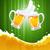 due · birra · verde · sfondo · colore - foto d'archivio © vectorarta