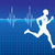pulse of running athlete stock photo © vectorarta