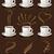 kahve · kalp · buhar · sevmek · dizayn · imzalamak - stok fotoğraf © vectorarta