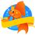 aranyhal · szalag · mágikus · víz · hal · úszik - stock fotó © vectorArta