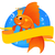 goldfish · banner · magia · agua · peces · natación - foto stock © vectorArta