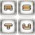 zilver · brieven · alfabet · school · kunst · onderwijs - stockfoto © vectorminator