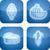 pulsante · funghi · illustrazione · gruppo · intatto · riposo - foto d'archivio © vectorminator