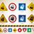 különböző · irodaszerek · illusztráció · toll · háttér · keret - stock fotó © vectorminator