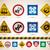 flechas · signo · rojo · azul · color · blanco - foto stock © vectorminator
