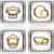 cocina · web · usuario - foto stock © vectorminator