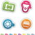 photography icons set stock photo © vectorminator