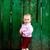 Baby near fence stock photo © velkol