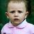 Baby-girl near fence stock photo © velkol