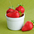 organiczny · truskawek · biały · kubek · dojrzały · czerwony - zdjęcia stock © velkol