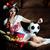 futball · lány · ül · futball · sport · haj - stock fotó © velkol