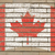 flag of canada on grunge brick wall painted with chalk stock photo © vepar5