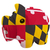 malac · gazdag · bank · zászló · amerikai · Maryland - stock fotó © vepar5
