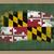 zászló · Maryland · nagyszerű · részlet · integet · szél - stock fotó © vepar5