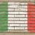 zászló · Olaszország · grunge · téglafal · festett · kréta - stock fotó © vepar5