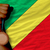 bronze medal for sport and national flag of of congo stock photo © vepar5