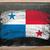 zászló · Panama · iskolatábla · festett · kréta · szín - stock fotó © vepar5