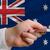 vásárol · hitelkártya · Ausztrália · férfi · nyújtás · ki - stock fotó © vepar5