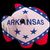 piggy rich bank in colors flag of american state of arkansas f stock photo © vepar5