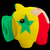bankrupt piggy rich bank in colors of national flag of senegal stock photo © vepar5