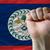 zászló · Belize · gömb · izolált · fehér · grafika - stock fotó © vepar5