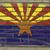 bandeira · parede · de · tijolos · pintado · grunge · edifício · parede - foto stock © vepar5