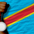 silver medal for sport and national flag of of congo stock photo © vepar5