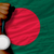 silver medal for sport and national flag of bangladesh stock photo © vepar5