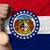 金メダル · スポーツ · フラグ · アメリカン · ミズーリ州 · 勝者 - ストックフォト © vepar5