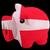 malac · gazdag · bank · zászló · Dánia · takarékosság - stock fotó © vepar5