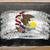 bayrak · Illinois · tahta · boyalı · tebeşir · amerikan - stok fotoğraf © vepar5
