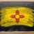 флаг · Нью-Мексико · доске · окрашенный · мелом · американский - Сток-фото © vepar5