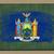 флаг · Нью-Йорк · доске · окрашенный · мелом · американский - Сток-фото © vepar5