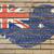 bandiera · Australia · muro · di · mattoni · verniciato · grunge · texture - foto d'archivio © vepar5