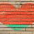 heart shape flag of belarus on brick wall stock photo © vepar5