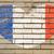 francês · bandeira · ilustração · isolado · vinho - foto stock © vepar5