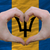 kalp · bayrak · Barbados · grunge · 3d · illustration · seyahat - stok fotoğraf © vepar5