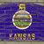 grunge flag of us state of kansas on brick wall painted with cha stock photo © vepar5