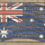 flag of australia on grunge brick wall painted with chalk stock photo © vepar5