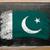zászló · Pakisztán · iskolatábla · festett · kréta · szín - stock fotó © vepar5