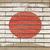 zászló · Japán · grunge · téglafal · festett · kréta - stock fotó © vepar5