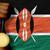 gold medal for sport and national flag of kenya stock photo © vepar5