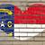 zászló · illusztráció · Észak-Karolina · toll · üzlet · festék - stock fotó © vepar5