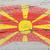 bandera · Macedonia · grunge · textura · pintado - foto stock © vepar5