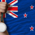 silver medal for sport and national flag of new zealand stock photo © vepar5